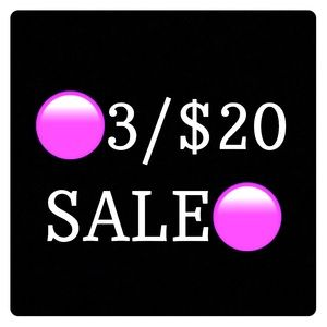 Tops - 🟣 3 items for $20 sale 🟣